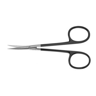 "Iris, Serrated Supercut Scissors, 4-1/2""(11.5cm), Curved"
