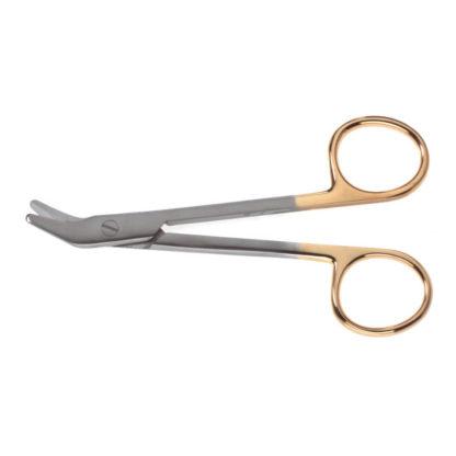 "Suture-Wire Onyx Scissors, 4-3/4""(12cm), Angled"