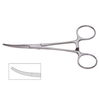 "Crile Forceps, 5-1/2""(14cm), Curved"