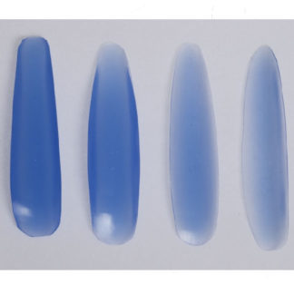 Gruber Set Of 4 Silicone Dorsal Nasal Sizers 1.5, 2.5, 3.5, 4.5