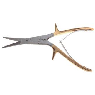 "Gorney Turbinate Shears Serrated Supercut Scissors, 8""(20cm), Angled"