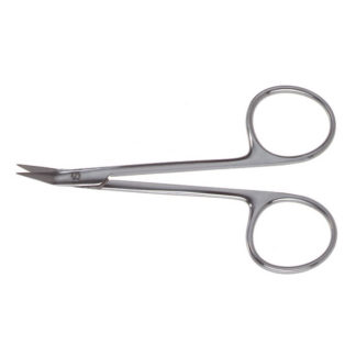 "Gunter Angled Double-Beveled Blade Scissors, 4""(10cm), Angled"