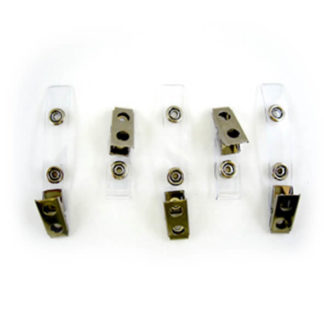 Headlight, Replacement 3.5mm Garment Clips, 5/Pk