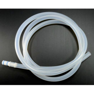 Silicone Suction Tube With Coupling Piece, 6'