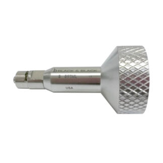 Toomey 60CC To Luer Lock Needle Connector Stainless Steel