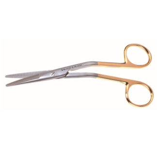 "Cottle Onyx Scissors, 6-1/4""(16cm), Angled"