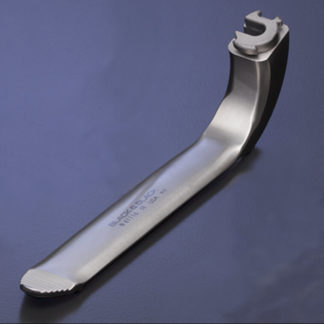 "Lumiview ""Midi"" Retractor Blade, 1/2""(12.5mm) x 5-3/8""(13.5cm), With Serrations"
